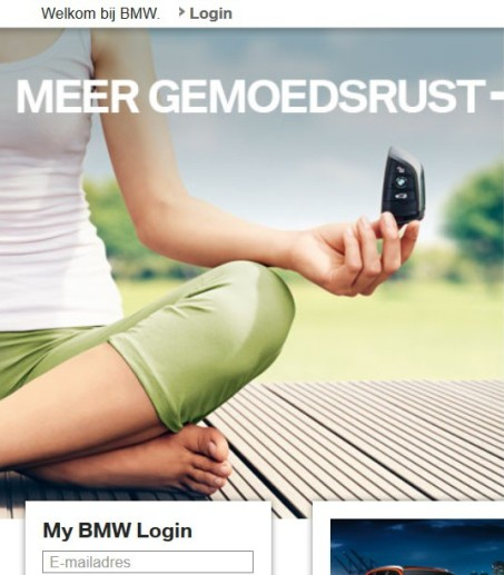 Handmodel BMW